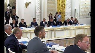 Андрей Бочаров принял участие в Госсовете по строительству дорог