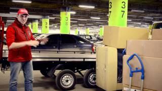Перевозка мебели(Продемонстрирован процесс перевозки мебели из