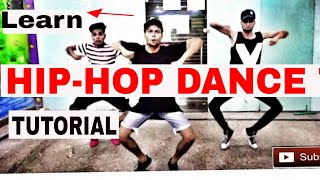 Easy Hip-Hop Dance Choreography For Beginner || Tutorial Step By Step || Yogesh Kr