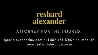 Houston Car Accident Lawyer RJ Alexander - Call: 832.458.1756