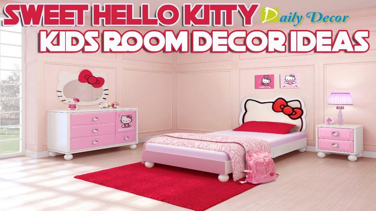 Daily Decor 20 Sweet Hello Kitty Kids Room Decor Ideas ...