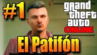 GTA V ONLINE FPS #1: INICIO DE UMA NOVA LENDA NO GTA! COMPRANDO UMA CASA! TIO PATIFON!
