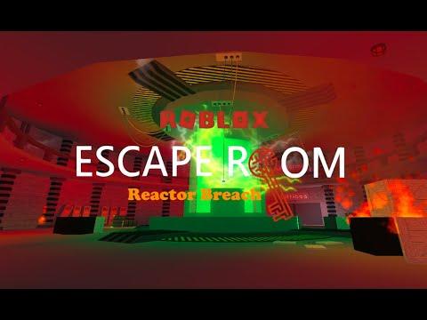 Reactor Breach Roblox Escape Room Youtube