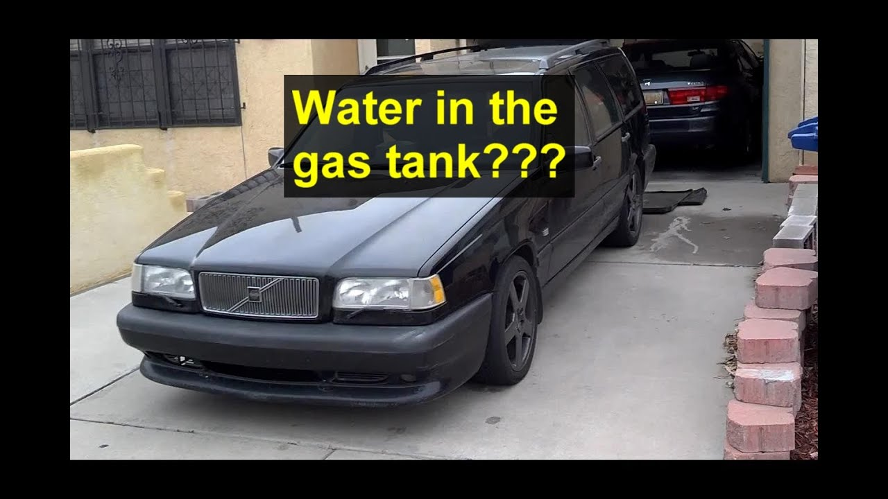Is Water In My Gas Fuel Tank This Video Explains And Shows You 2007 Tundra Filter What Happens Votd