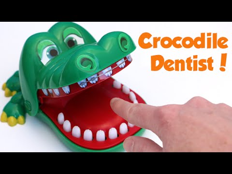 Crocodile Dentist Biting Hand Game For Kids Toy Reviews