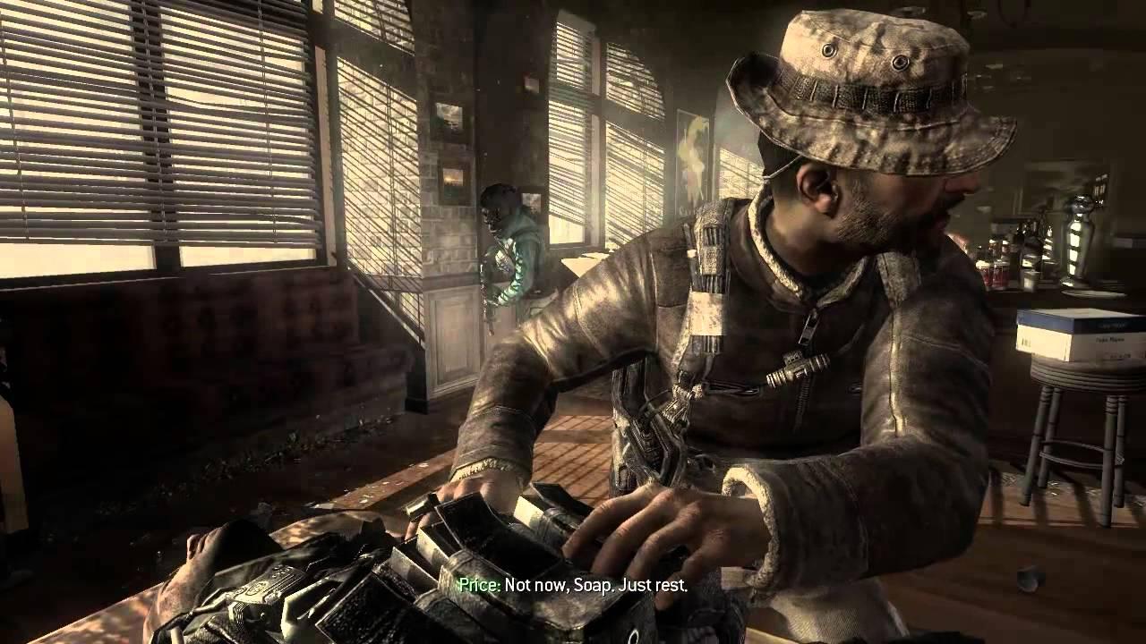 Modern Warfare 3 John Soap Mactavish S Death Youtube