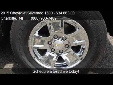 2015 Chevrolet Silverado 1500 LT for sale in Charlotte, MI 4