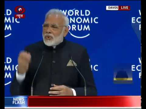 FULL SPEECH: PM Modi addresses plenary session of World Economic Forum at Davos
