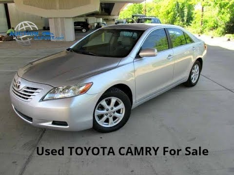 Used 2008 TOYOTA CAMRY For Sale in USA, Shipping to Nigeria