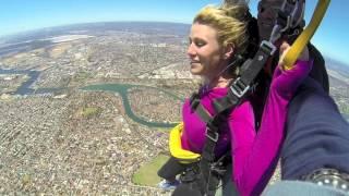 Sam Pennence at Coastal Skydive