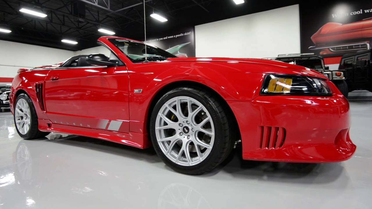 2004 ford saleen mustang s281e