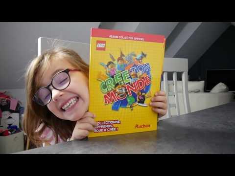 Carte Lego Auchan Album.Collection De Cartes Lego Auchan Team Caps Family Youtube