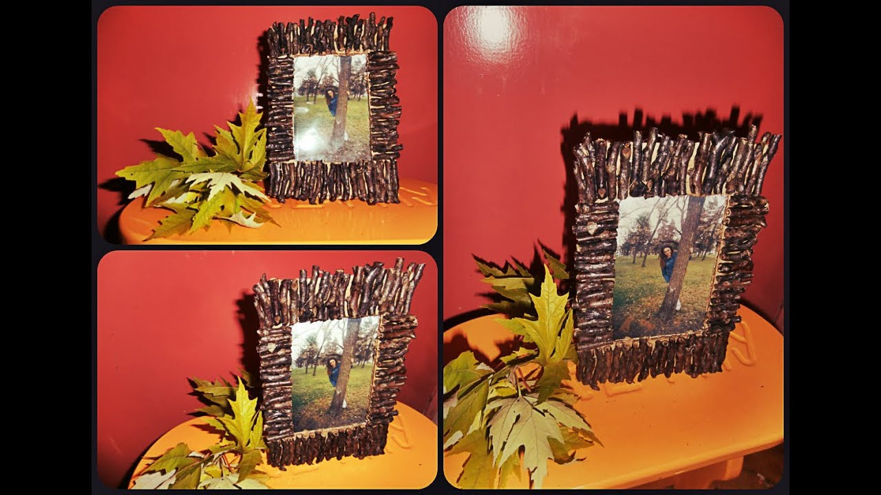 Diy Fall Decorations Diy Fall Decorations Picture Frame Dekoracija Jesen Ram