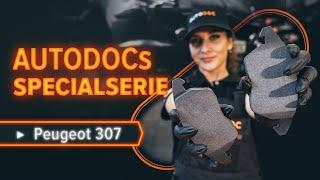 Montering Bromsbeläggsats PEUGEOT 307 SW (3H): gratis video
