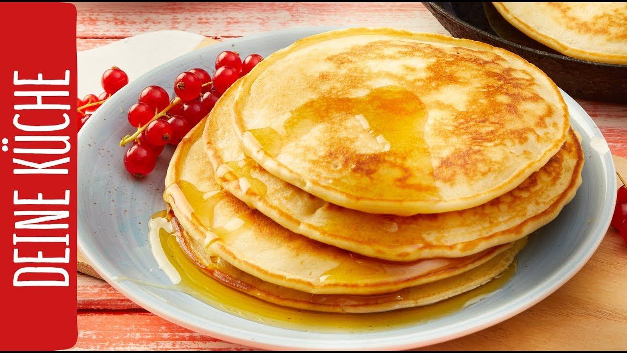 American Pancakes | Amerikanische Pfannkuchen | REWE Deine Küche