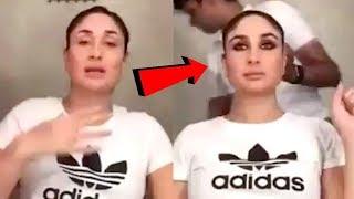 Kareena Kapoor Makeup Video - For Veere Di Wedding Song Launch