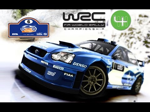 WRC 4 PS2 [Road To Championship][Acropolis Rally of Greece] #6