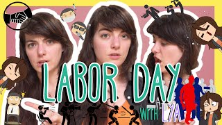 French LABOR DAY Words with Lya!