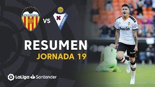 Resumen de Valencia CF vs SD Eibar (1-0)