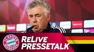 ReLive | FC Bayern Press Conference with Carlo Ancelotti