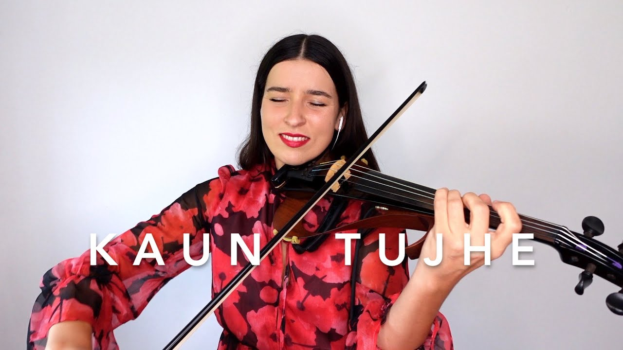 Kaun Tujhe - Palak Muchhal - Electric Violin Cover Instrumental - Barbara Krajewska