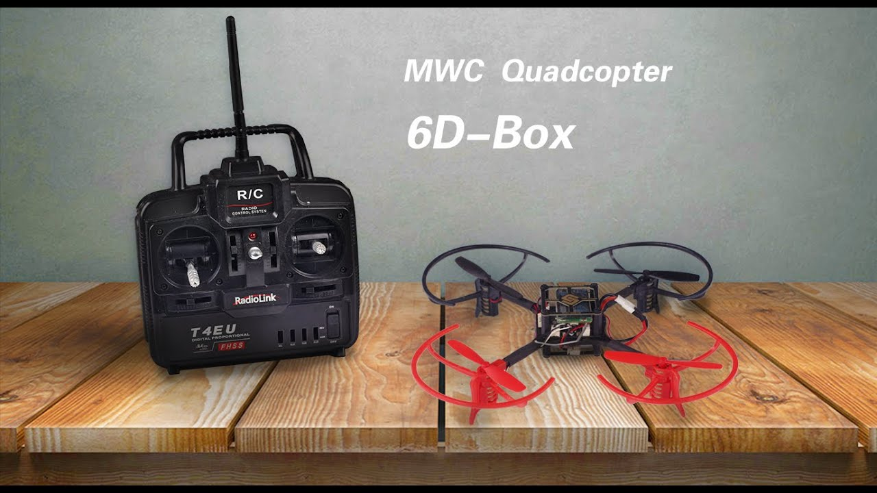 Multirotor hobbyists d box mwc multiwii mini drone