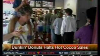 Dunkin' Donuts Halts Hot Cocoa Sales - Bloomberg