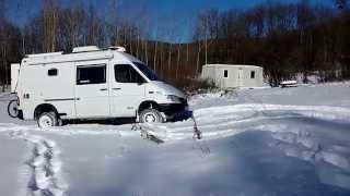 mercedes sprinter 4x4 camper snow experience