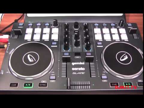 GEMINI SLATE AND SLATE 4 DJ CONTROLLERS @NAMM 2015 WITH DJKIT TV