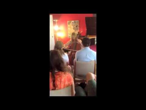 Cello recital for YouTube