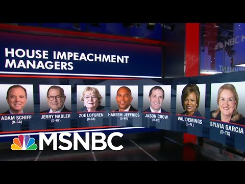 House Dems Send Impeachment Charges To Senate | The 11th Hour | MSNBC