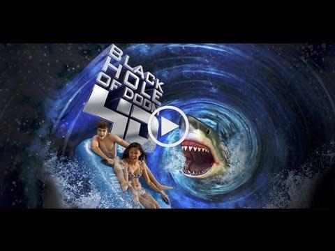 Black Hole of Doom Water Slide - Six Flags Hurricane Harbor - Texas New for 2013