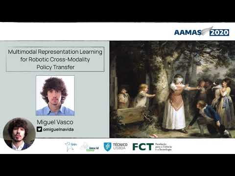 AAMAS 2020 - Multimodal Representation Learning for Robotic Cross-Modality Policy Transfer