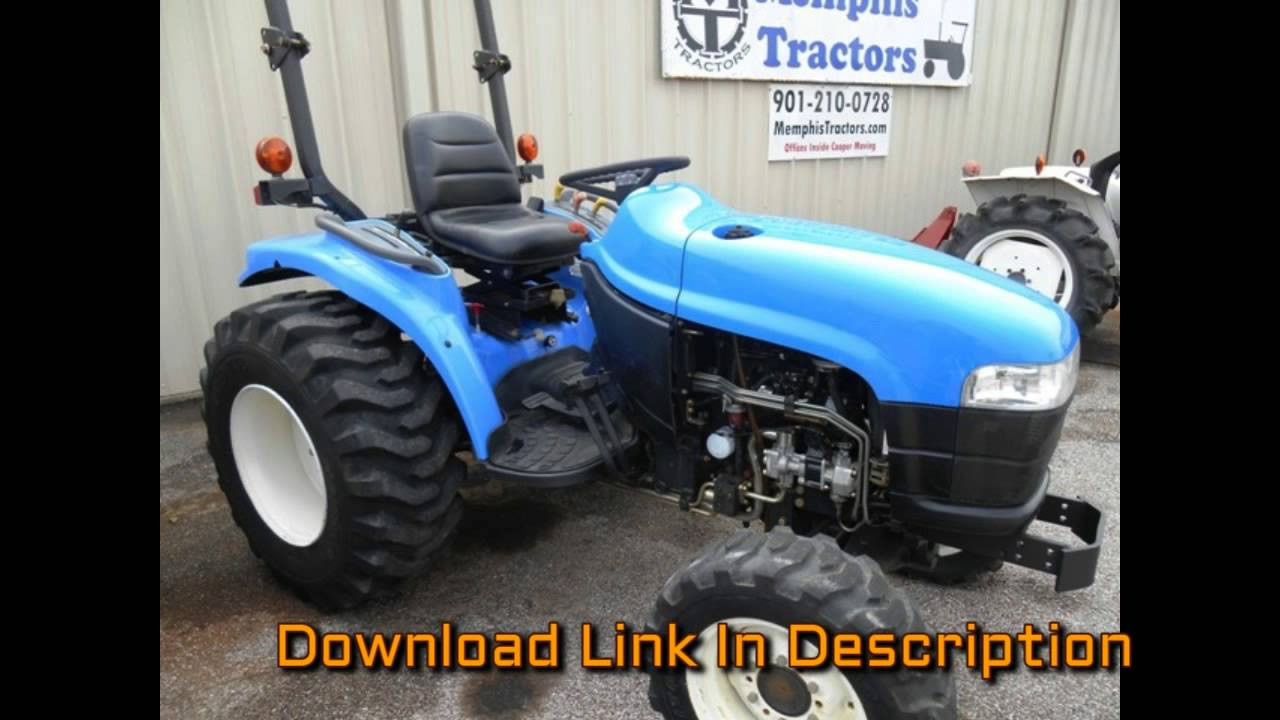 New Holland Tc33 Tractor Illustrated Master Parts List Pdf Manual on