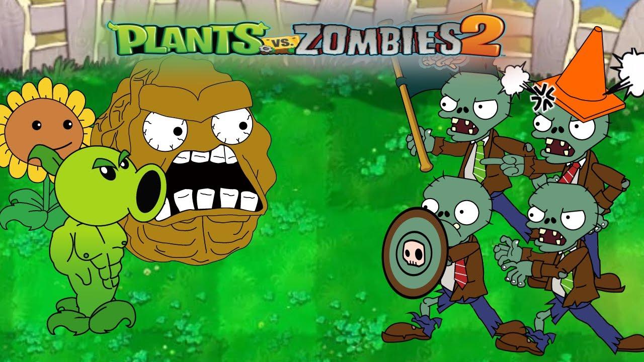 Plants Vs. Zombies funny moments Plot reversal - Episode 02