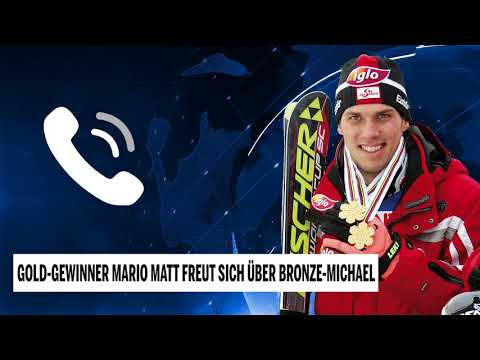 Gold-Gewinner Matt freut sich über Bronze-Michael