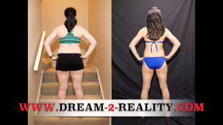 P90X Results Women - Tekoa's Amazing Power 90 and P90X Workout Transformation Results P90X2 PX90