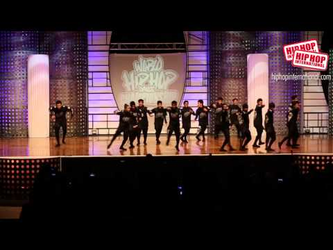 A Team   Philippines Mega Crew Gold Medal Winner 2014 HHI World Finals