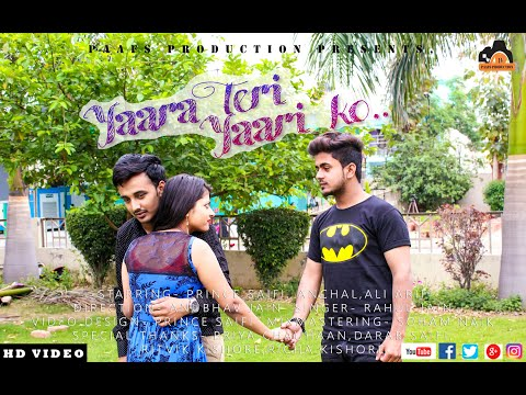 YARA TERI YARI KO    TERE JAISA YAAR  KAHAN  New  Song   Rahul Jain Emotional Cute Friendship Story