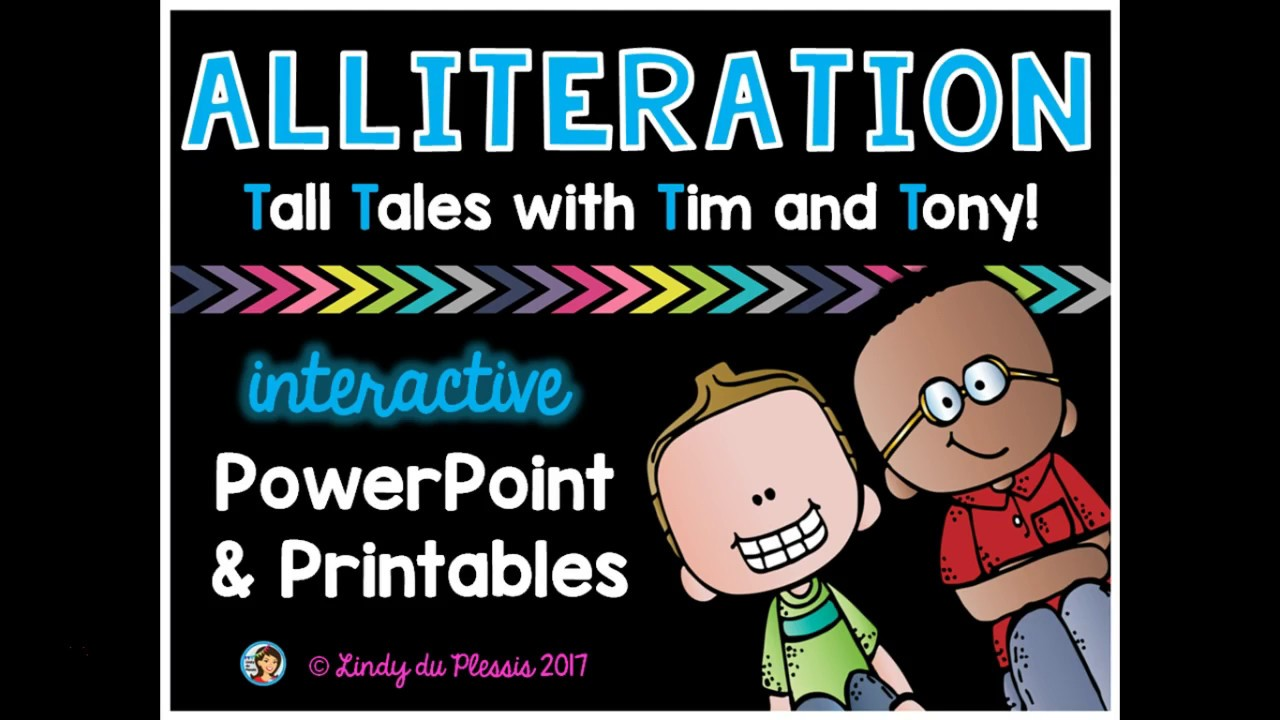 small resolution of ALLITERATION POWERPOINT 2ND GRADE ALLITERATION POWERPOINT WORKSHEETS  TEACHING RESOURCES TPT