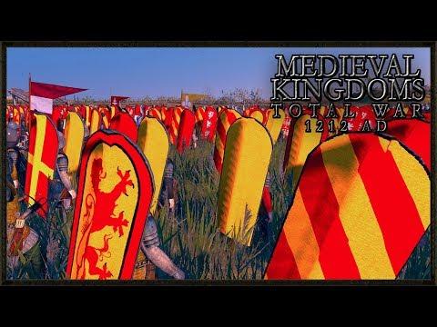 Spanish Invasion Of Europe - Medieval Kingdoms 1212 AD Total War Gameplay