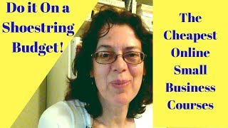 Building My Small Business on a Shoestring Budget
