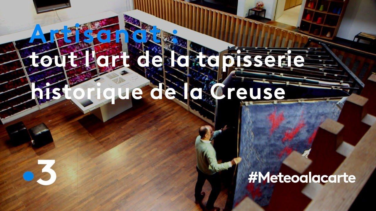 Artisanat : tout l'art de la tapisserie historique de la Creuse