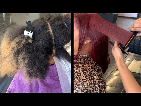 Coloring Dark brown& Blonde hair Red | Brown to Red Hair | New Announcement coming soon Shh.
