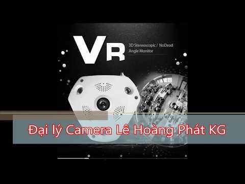 Camera VR 3D 360