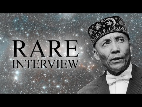 The Most Honorable Elijah Muhammad Rare Interview