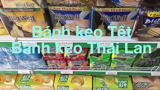 Bánh kẹo Tết bánh kẹo Thái Lan