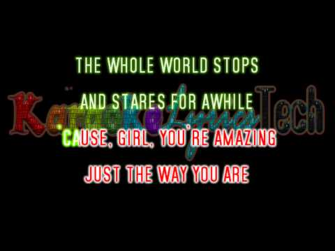 Bruno Mars - Just The Way You Are - Karaoke / Lyrics