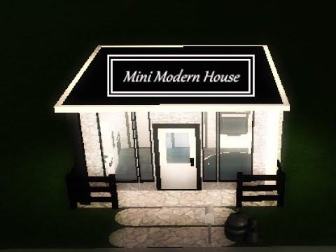 Roblox Welcome to Bloxburg Mini Modern House 5x5