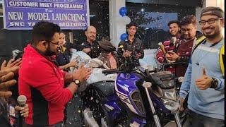 Grand Launch Event!! FZS V3 and FZ V3 || SNC Yamaha Motors. Ft Anbee Arnab